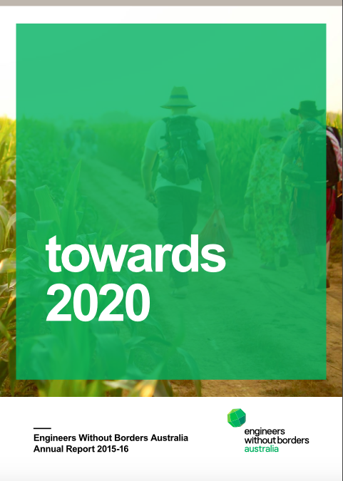 Launching EWB Australia's Annual Report 'Towards 2020'