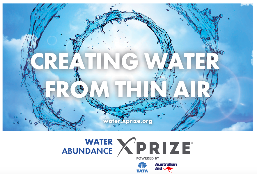 Water Abundance Xprize challenge offers $1.5 Million to create water.