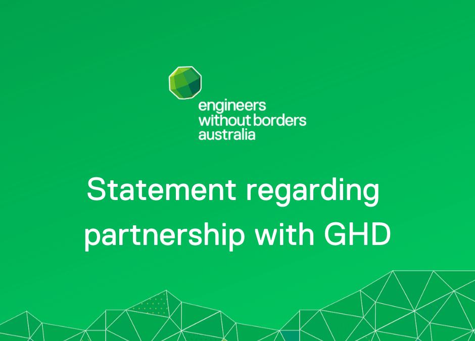 Cessation of GHD Partnership