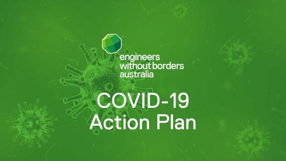 EWB Australia and the COVID-19 action plan